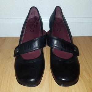 ABEO B.I.O. Black Mary Janes
